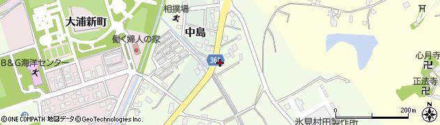 竹接骨院周辺の地図
