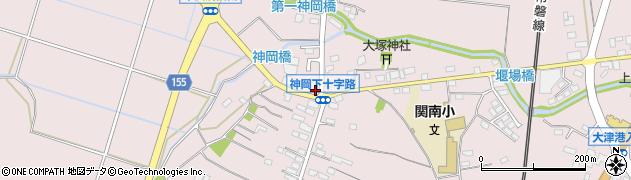茨城県北茨城市関南町(神岡下)周辺の地図