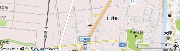 茨城県北茨城市関南町周辺の地図