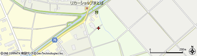 富山県氷見市古江周辺の地図