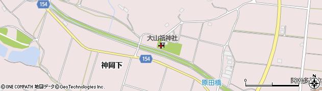 大山祇神社周辺の地図