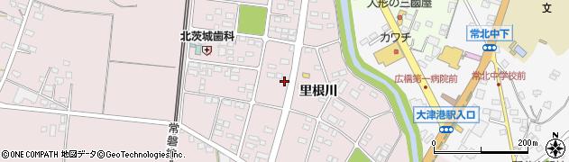 茨城県北茨城市関南町(里根川)周辺の地図