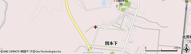 茨城県北茨城市関南町(関本下)周辺の地図