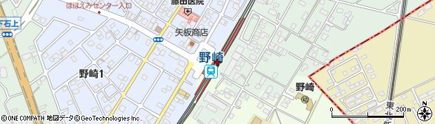 栃木県大田原市周辺の地図