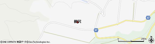 富山県黒部市柳沢周辺の地図