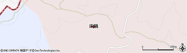 富山県氷見市床鍋周辺の地図