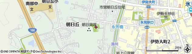 誓度寺周辺の地図