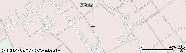 栃木県大田原市加治屋周辺の地図