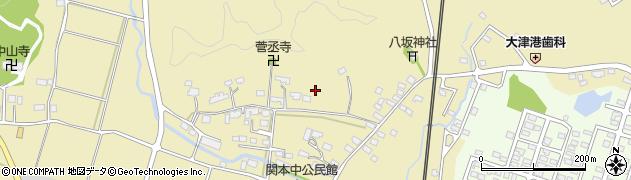 茨城県北茨城市関本町(関本中)周辺の地図