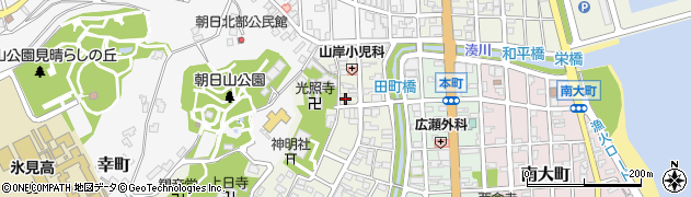 入江神社周辺の地図