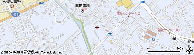 栃木県大田原市浅香周辺の地図