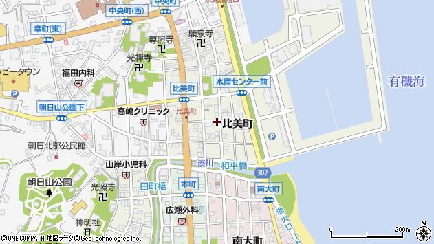 〒935-0012 富山県氷見市比美町の地図