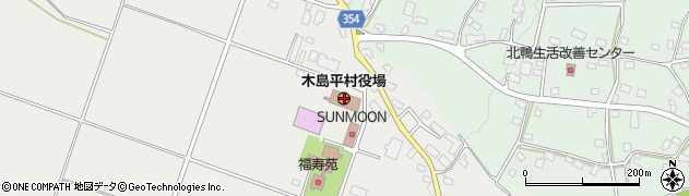 長野県下高井郡木島平村周辺の地図