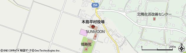 長野県木島平村(下高井郡)周辺の地図
