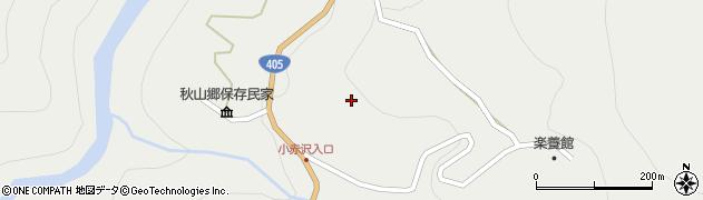 長野県栄村(下水内郡)堺(小赤沢)周辺の地図