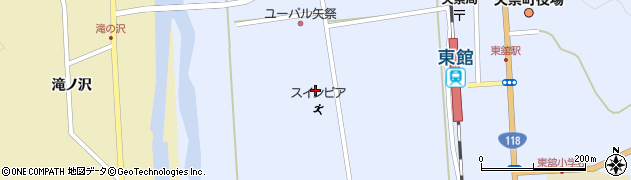 矢祭町役場 スインピア矢祭周辺の地図