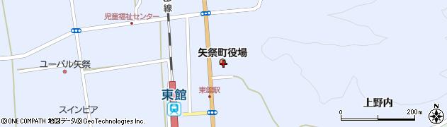 福島県東白川郡矢祭町周辺の地図
