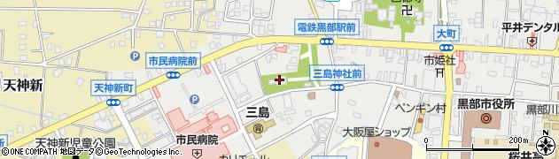 八心大市比古神社周辺の地図