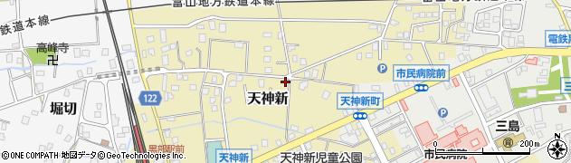 富山県黒部市天神新周辺の地図