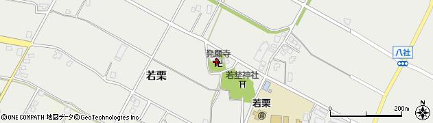 発願寺周辺の地図