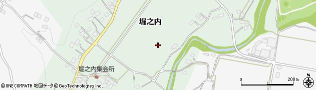 栃木県大田原市堀之内周辺の地図