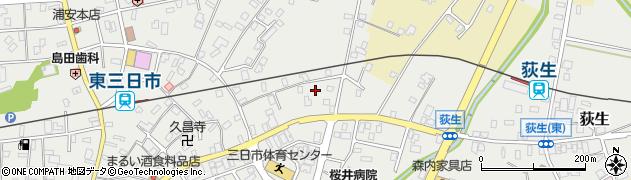 大光庵周辺の地図