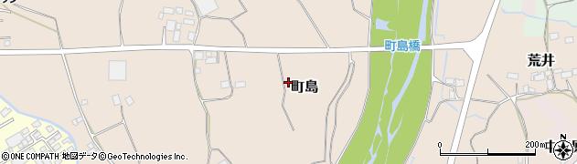 栃木県大田原市町島周辺の地図