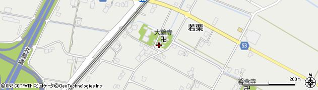 大鏡寺周辺の地図