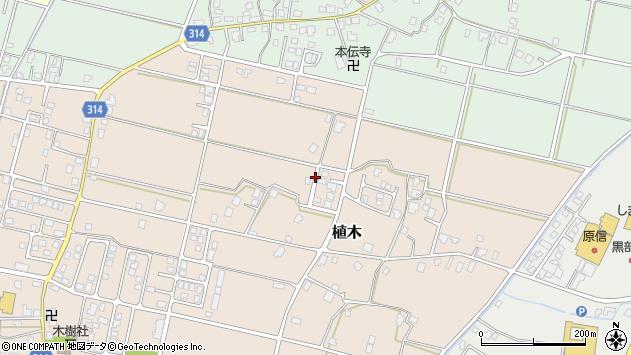 〒938-0014 富山県黒部市植木の地図