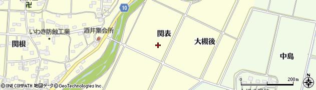 福島県いわき市勿来町酒井(関表)周辺の地図