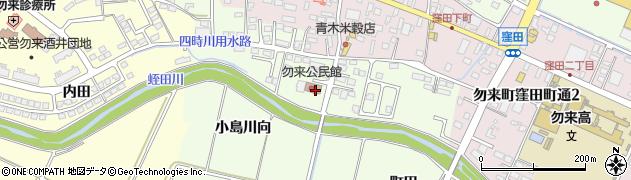 福島県いわき市勿来町窪田(小島)周辺の地図