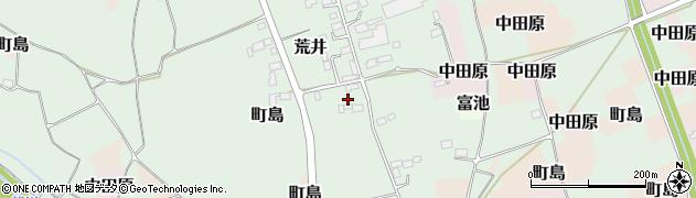 栃木県大田原市荒井周辺の地図