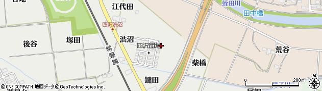 福島県いわき市勿来町四沢(五反田)周辺の地図