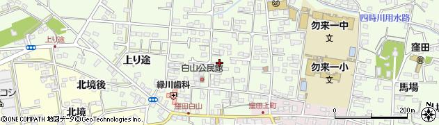 福島県いわき市勿来町窪田(西殿町)周辺の地図