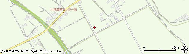 栃木県大田原市小滝周辺の地図