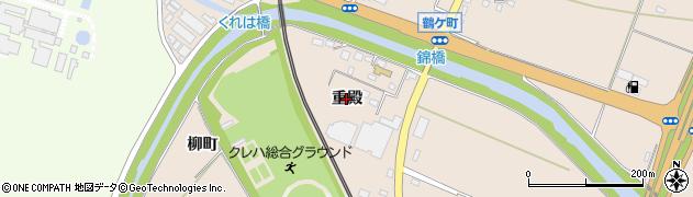 福島県いわき市錦町(重殿)周辺の地図