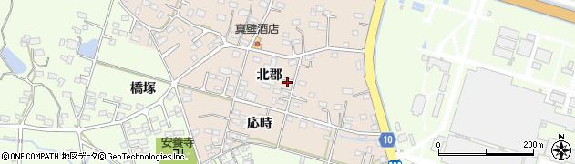 福島県いわき市勿来町大高(北郡)周辺の地図