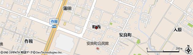 福島県いわき市錦町(町西)周辺の地図