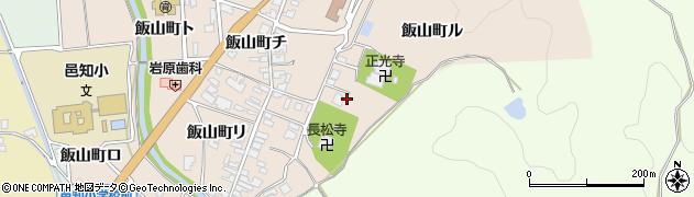 飯山神社周辺の地図