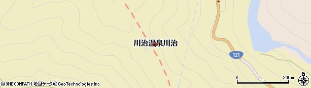 栃木県日光市川治温泉川治周辺の地図