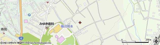 栃木県那須塩原市高柳周辺の地図