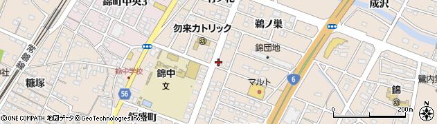 モン・トレゾール周辺の地図