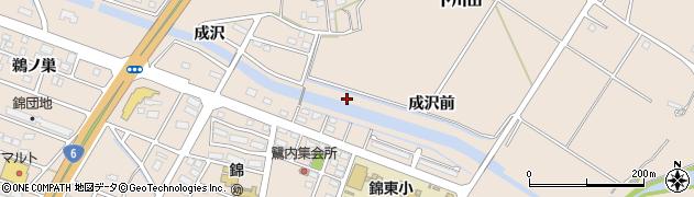 福島県いわき市錦町(鷺内)周辺の地図