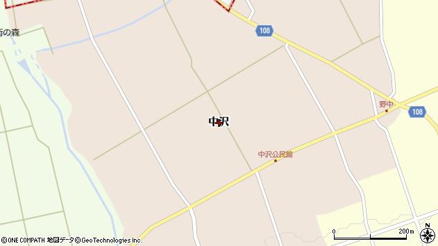 〒938-0105 富山県下新川郡入善町中沢の地図