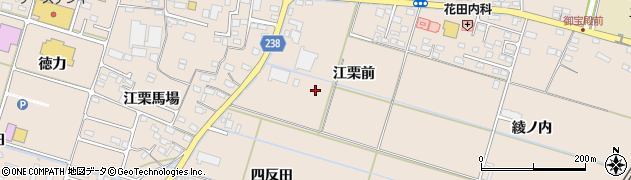 福島県いわき市錦町(江栗前)周辺の地図
