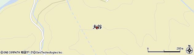 新潟県妙高市大谷周辺の地図