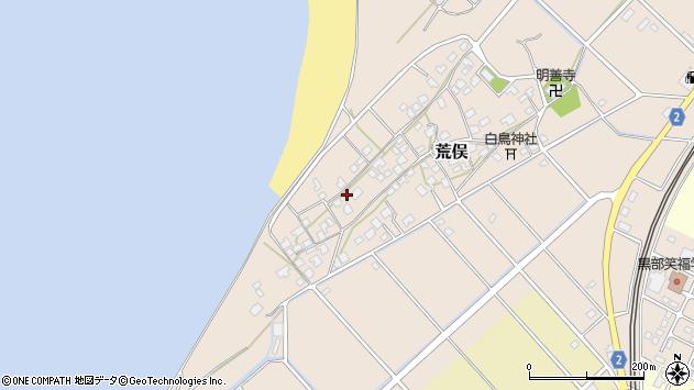 〒938-0001 富山県黒部市荒俣の地図