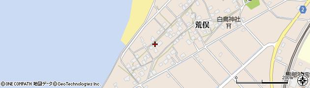 富山県黒部市荒俣周辺の地図