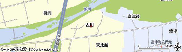 福島県いわき市沼部町(古川)周辺の地図