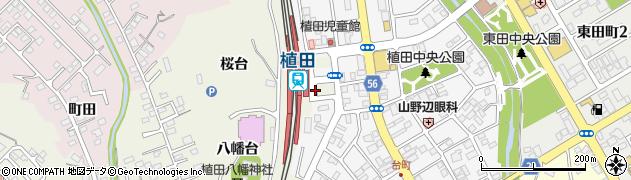 福島県いわき市植田町(金畑)周辺の地図